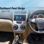 Desain Dashboard Toyota Avanza Baru