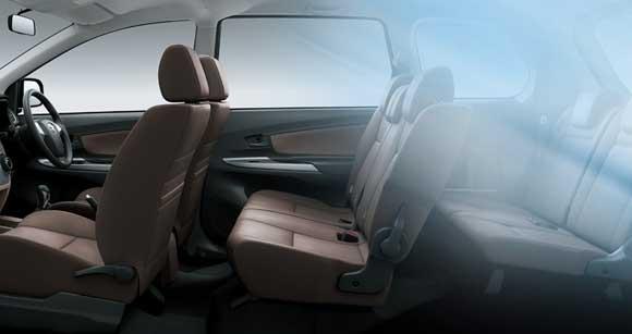 Sisi Kenyamanan Kabin Mobil Grand New Toyota Avanza