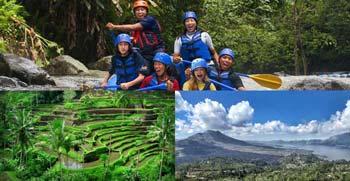Paket Ayung Rafting Kintamani Tour Bali