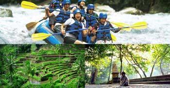 Paket Ayung Rafting Ubud Tour