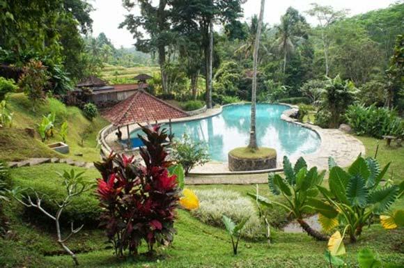 Kolam Umum Utama ESPA Yeh Panes Natural Hot Spring Resort