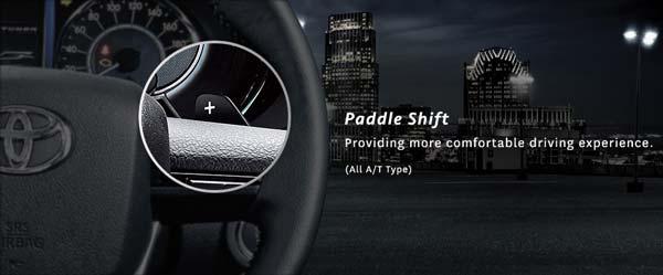 Paddle Shift Toyota Fortuner Otomatis