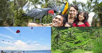 Paket Bali Water Sports Ubud Tour