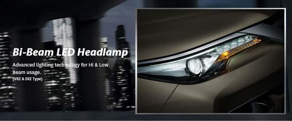 Lampu LED Bi Beam
