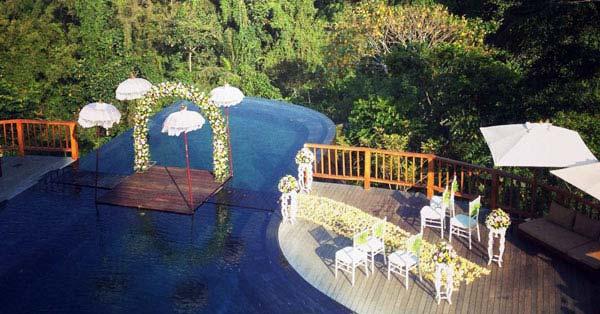Tempat Menikah Hanging Gardens Ubud