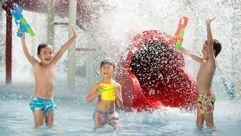 Jungle Splash Waterplay - Tempat Wisata Yang Aman Untuk Anak Di Bali