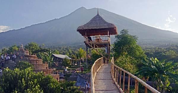 Rumah Pohon Karangasem Bali