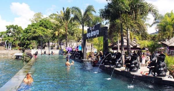 Pemandian Air Panas Alami Di Bali
