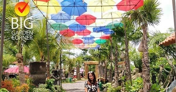 Atap Payung Warna Warni
