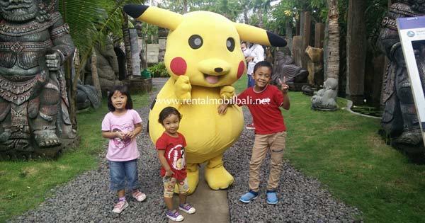 Pikachu Big Garden Corner Bali