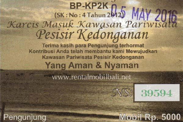 Harga Tiket Masuk Pantai Kedonganan Bali