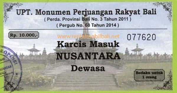 Harga Tiket Masuk Monumen Bajra Sandhi Bali