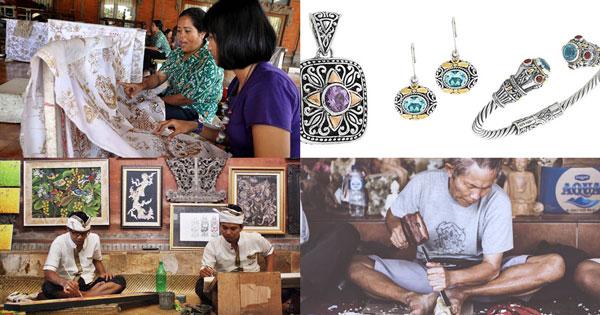 Paket Tour Kerajinan Tangan Bali Setengah Hari