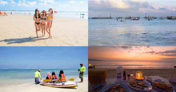 Paket Tour Pantai Pasir Putih Bali Half Day