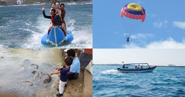 wahana permainan watersports di Tanjung Benoa