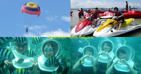 Pilihan Permainan & Harga Watersport Tanjung Benoa