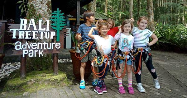 Bali Treetop Adventure Park Bedugul - Tempat Wisata Di Bali Untuk Anak