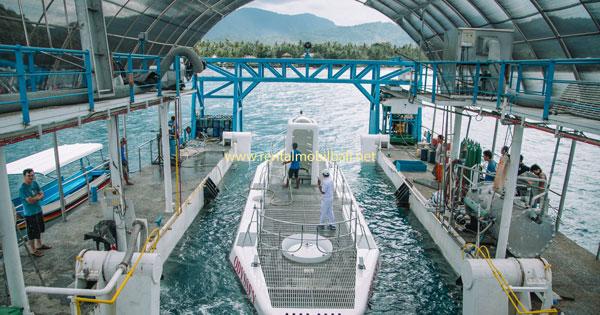 Program Saat Wisata Kapal Selam Odyssey Labuhan Amuk Karangasem