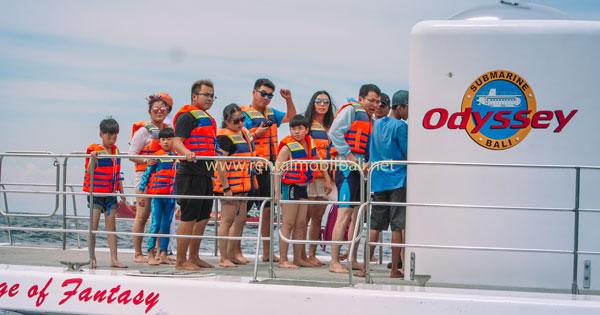 Program Sebelum Menyelam Bali Submarine Tour