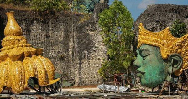 Proses Pembuatan Patung GWK Bali