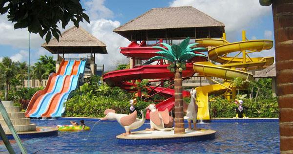 Water Slide Dreamland Waterpark Pecatu