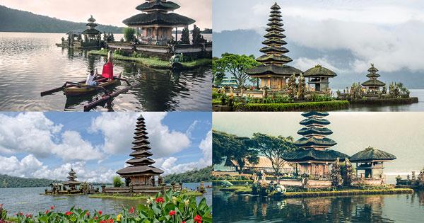 Pura Ulun Danu Bratan Bedugul Tabanan Bali