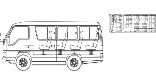 Keterangan Kendaraan Isuzu ELF 14 Seat