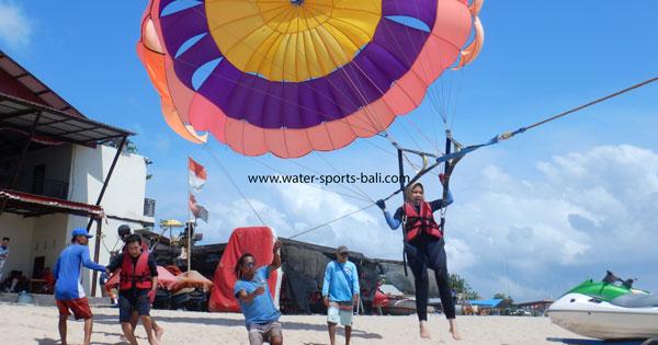 Single Parasailing Tanjung Benoa