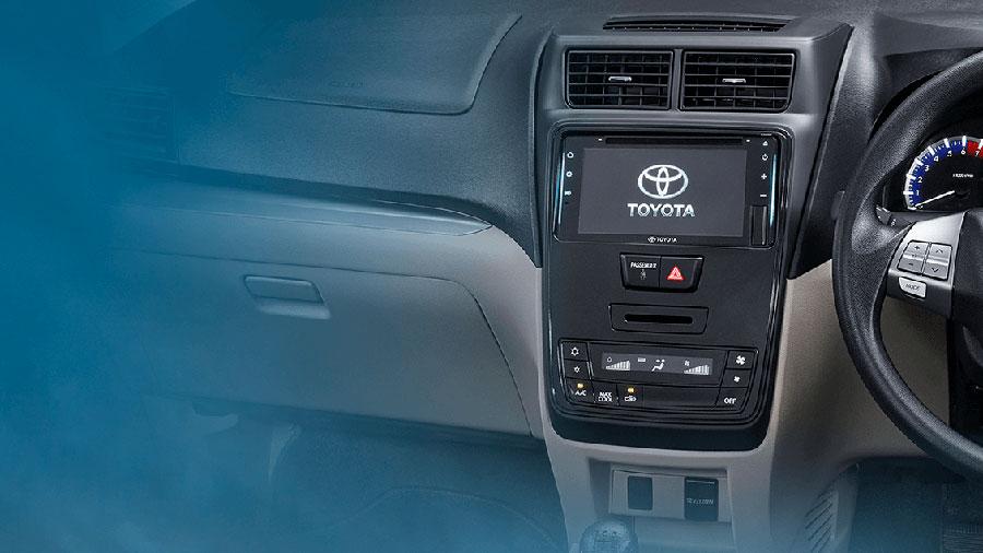 Dashboard Tengah Toyota Avanza facelift