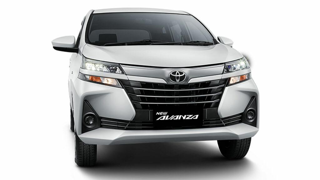Desain Eksterior Toyota Avanza Terbaru