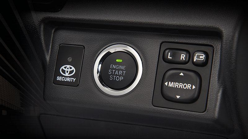 Smart Start/Stop Engine Button