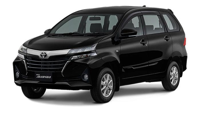 Toyota Avanza Facelift Black Metallic