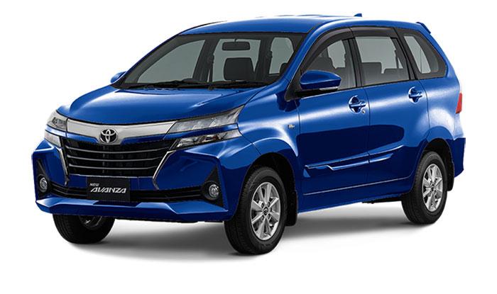 Toyota Avanza Facelift Dark Blue