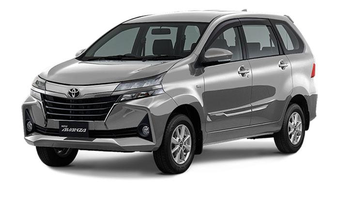 Toyota Avanza Facelift Silver Metallic