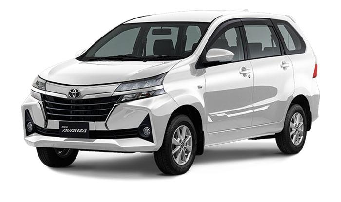 Toyota Avanza Facelift White