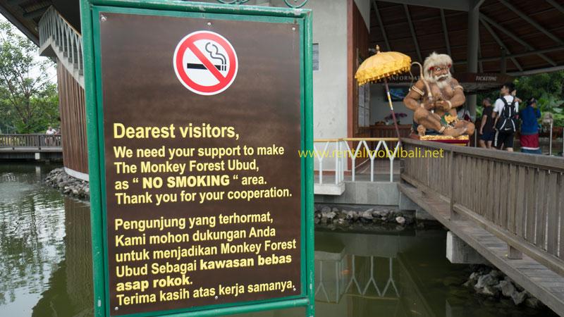 Kawasan Objek Wisata Bebas Rokok Di Bali