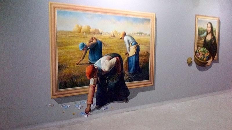 Contoh Lukisan 3D Dream Museum Zone Kuta