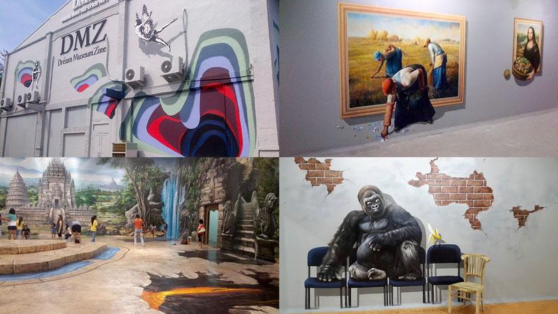 Dream Museum Zone Kuta Bali