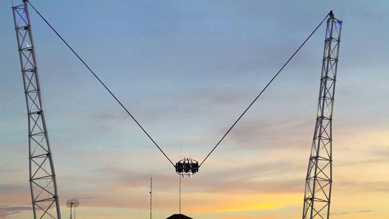 Pemandangan Sunset Saat Permainan 5GX Bali