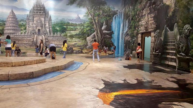 Pengalaman Memasuki Museum 3 Dimensi Bali