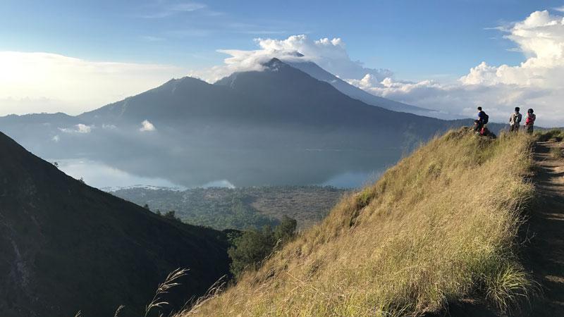 Mendaki Gunung Batur Kintamani