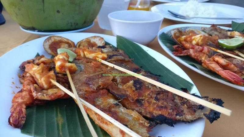 Cafe Seafood Bakar Jimbaran