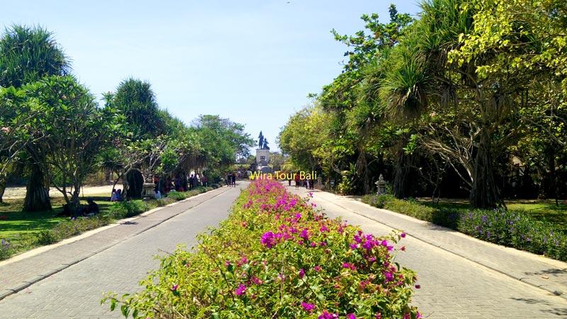 Gerbang Masuk Garden of Hope Bukit Peninsula - Tempat Wisata Keluarga Di Nusa Dua & Tanjung Benoa
