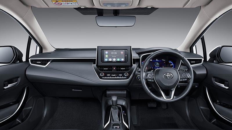 Interior All New Corolla Altis