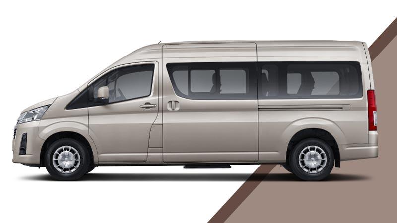 Tampilan Smping Microbus Hiace Premio