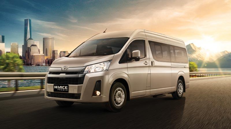 Toyota Hiace Indonesia Premio