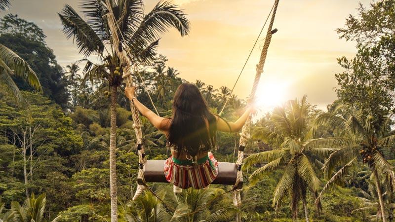 Tegalalang Swing Ubud Bali
