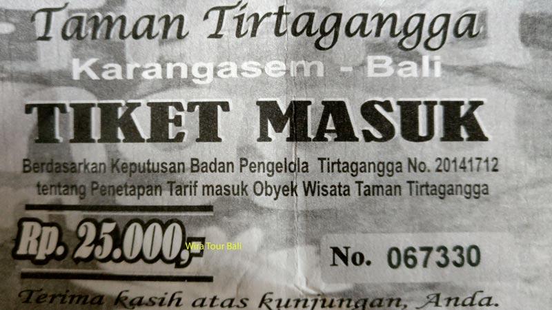 Harga Tiket Masuk Taman Tirta Gangga Karangasem Bali