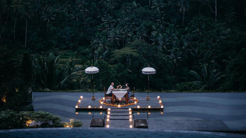 Bali Romantic Dinner Honeymoon