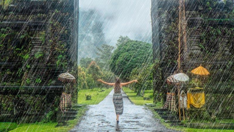 Musim Hujan Di Bali